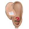 Toddler Tan Perf Faux Leather BILLY Classic Lace Highs, zipper shoes, like velcro, that are adaptive, accessible, inclusive and use universal design to accommodate an afo. Footwear is medium and wide width, M, D and EEE, are comfortable, and come in toddler, kids, mens, and womens sizing.
