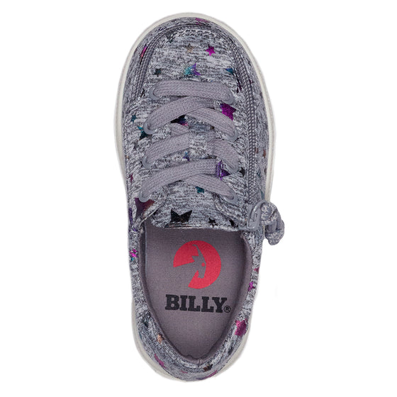 Toddler Heather Grey Star BILLY Classic Lace Lows - BILLY Footwear®