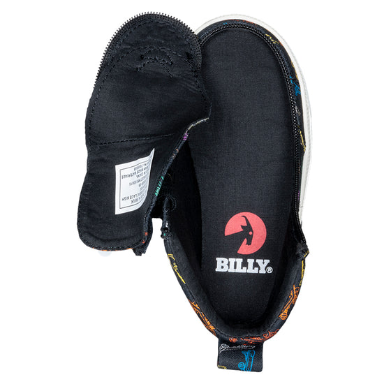 Toddler Black Skateboards BILLY Classic Lace Highs