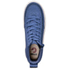 Women's Navy BILLY Classic Lace High, zipper, shoes, velcro, adaptive, accessible, afo, universal, kids, comfortable, BILLY Footwear