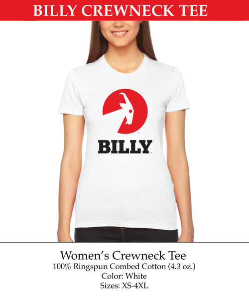Women's Crewneck Tee - shoes zippers universal, Apparel - zipper shoes, Now Available! - BILLY Footwear