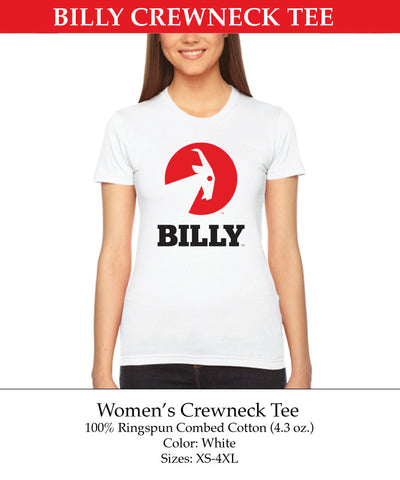 Women's Crewneck Tee, zipper, shoes, velcro, adaptive, accessible, afo, universal, kids, comfortable, BILLY Footwear