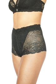 Lace Underwear, Sexy, Lingerie, Post Pregnancy Underwear, Post Partum Underwear, Black LIngerie