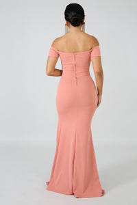 Dainty Maxi Mermaid Dress | vendor-unknown