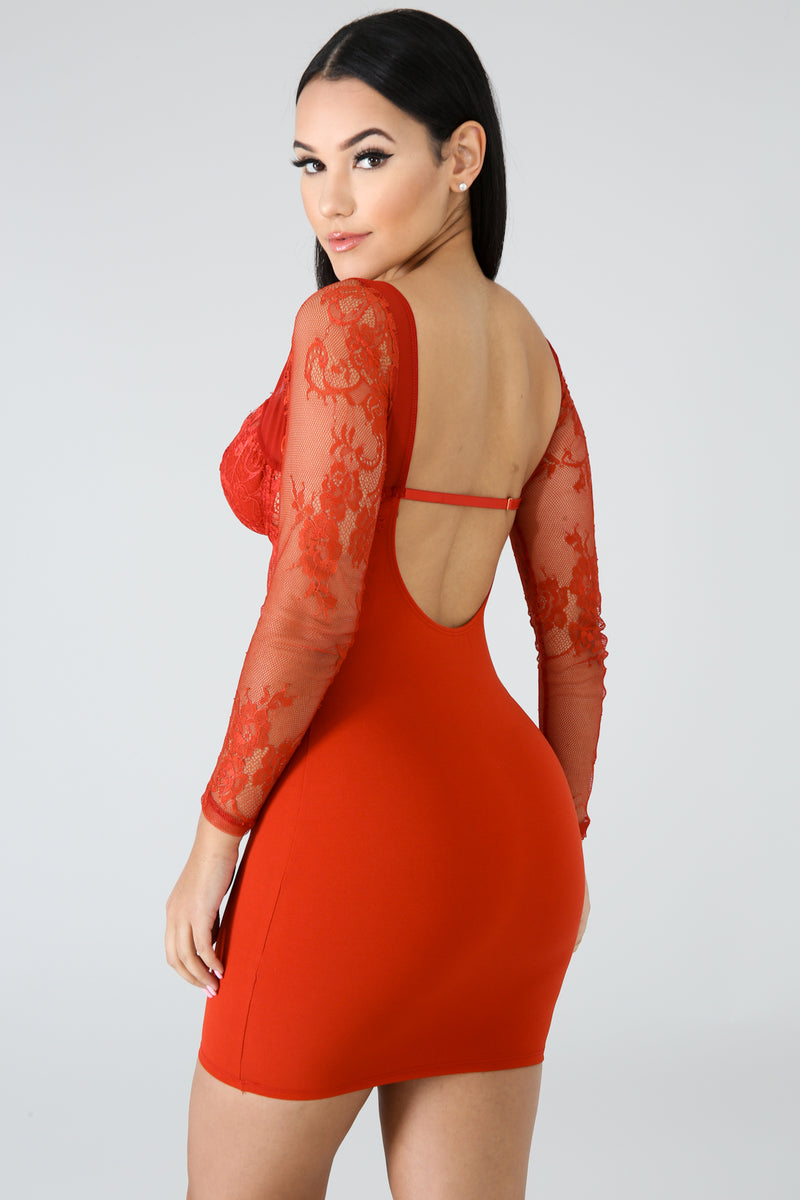 Attention In Me Body Con Dress | GitiOnline