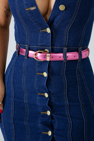Metallic Shine Belt | GitiOnline