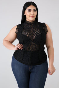 Lace See Me Now Top | GitiOnline