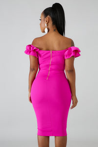 Queen Pleats Body-Con Dress | GitiOnline