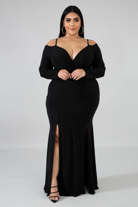 Dreams Slit Maxi Dress | GitiOnline