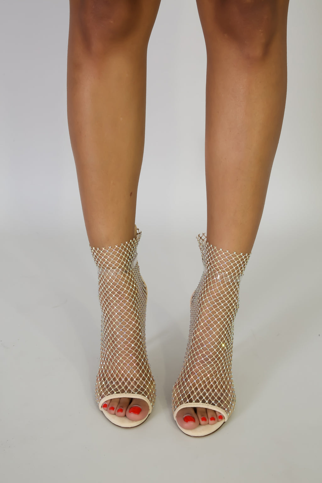 Copy of Rhinestone Net Heels-11/15/20