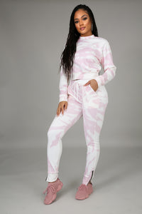 Chill With Me Jogger Set | GitiOnline
