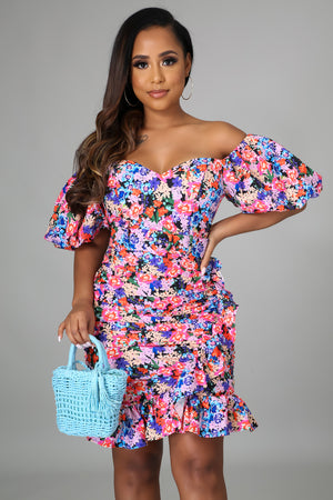 Lost In The Flowers Dress