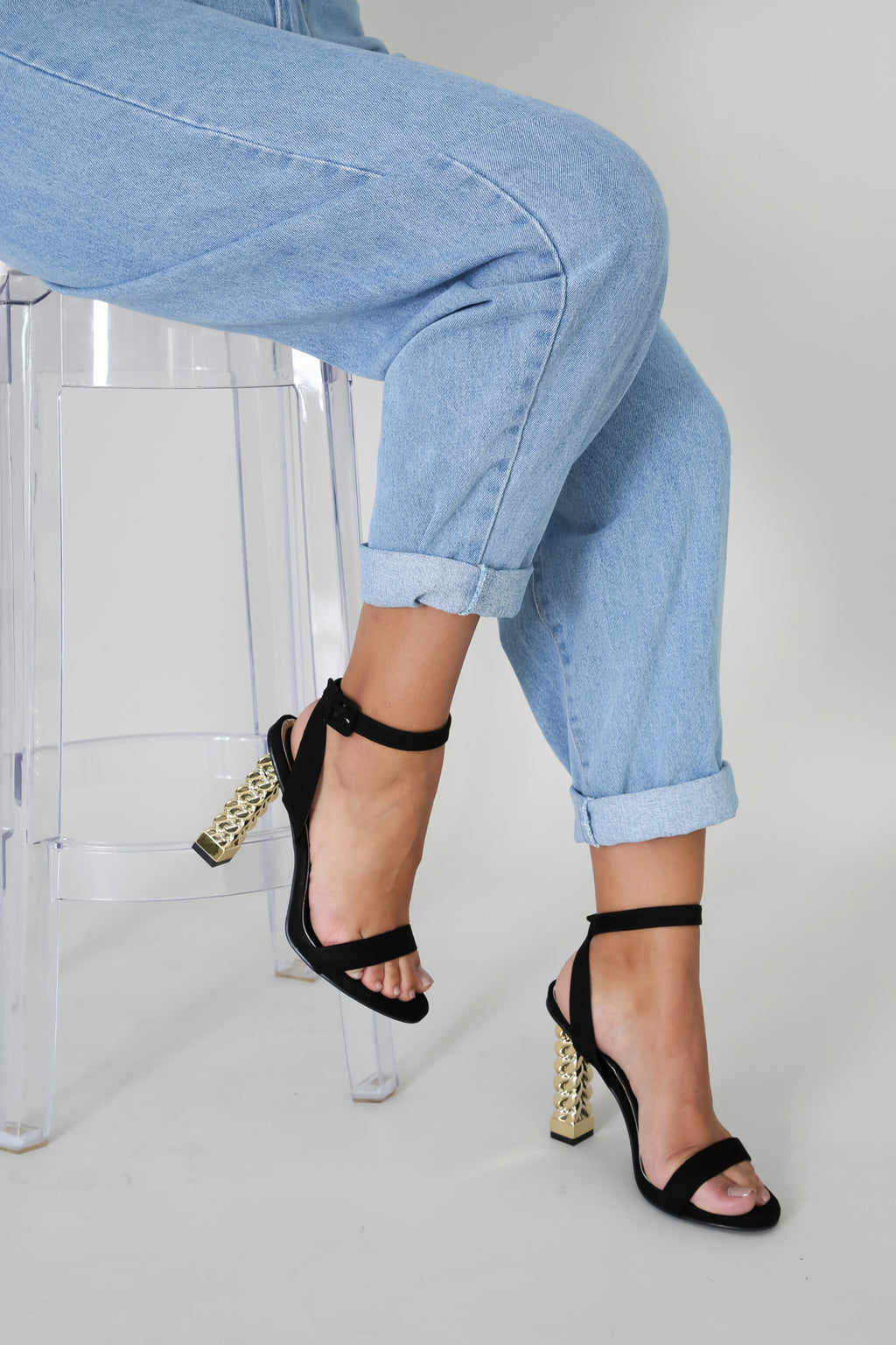 Cant't be Chained OpenToe Heels | GitiOnline