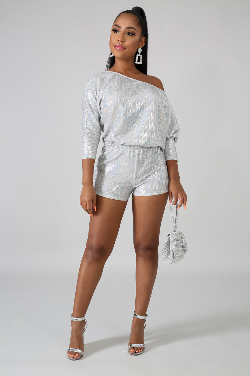 Shine Time Romper