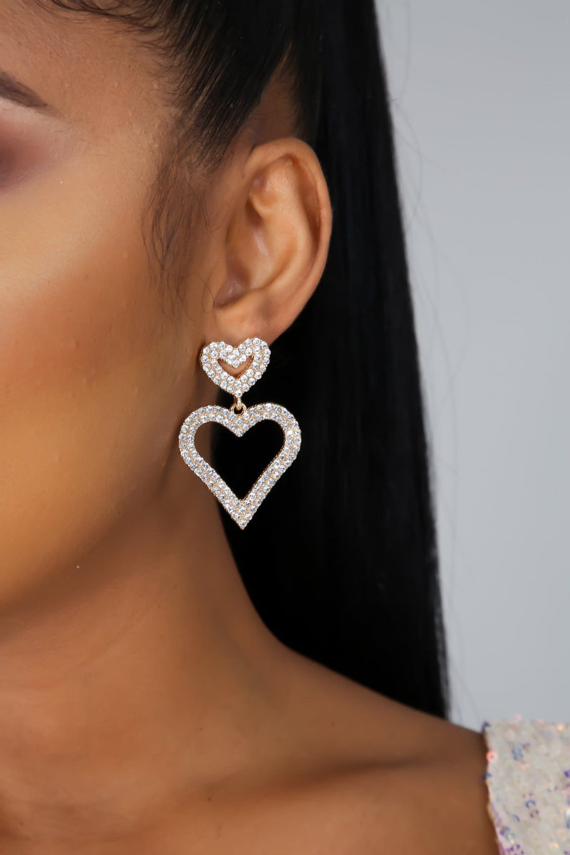 I Heart You Earrings