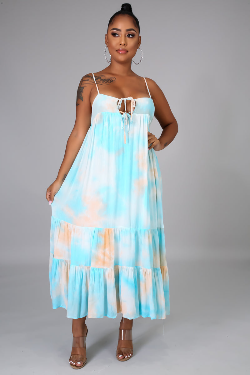 Dulce Pacifica Maxi Dress