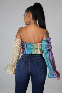 Swirl Away Top
