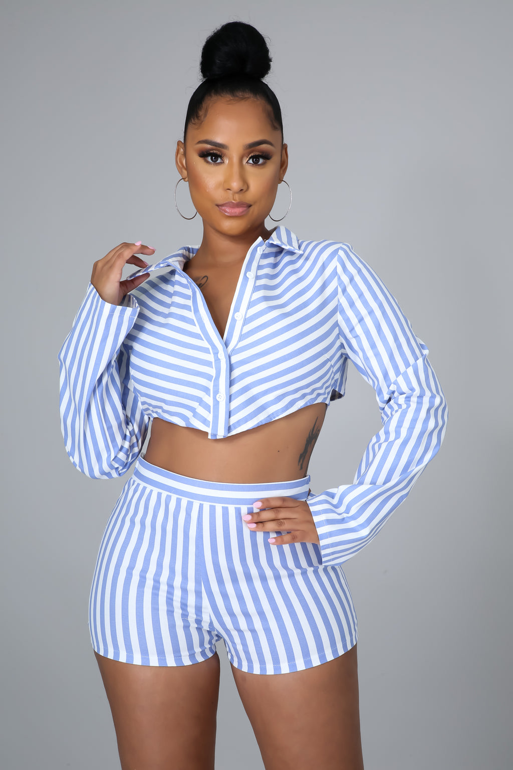 Striped Sweetie Short Set