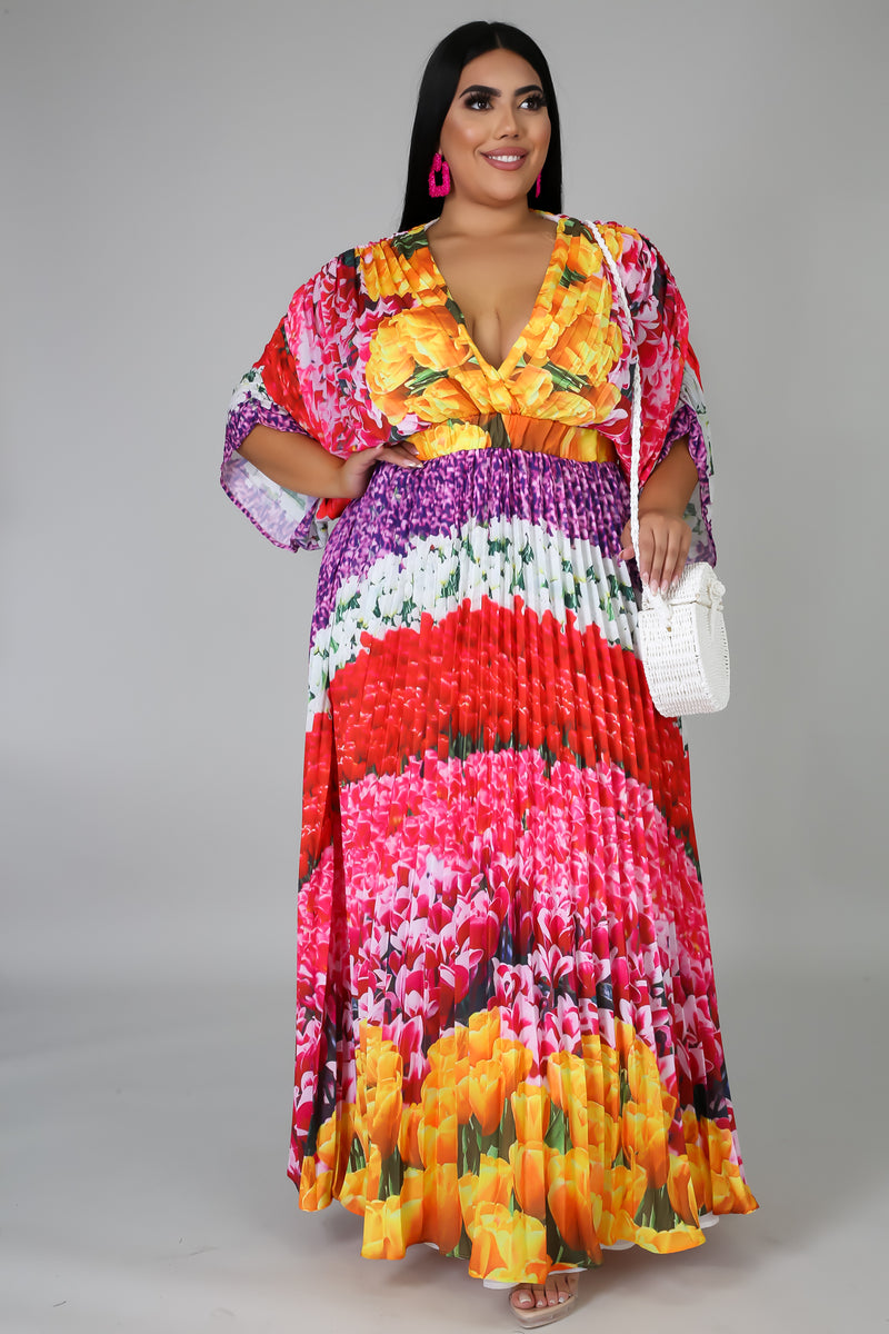 Season Maxi Dress | GitiOnline