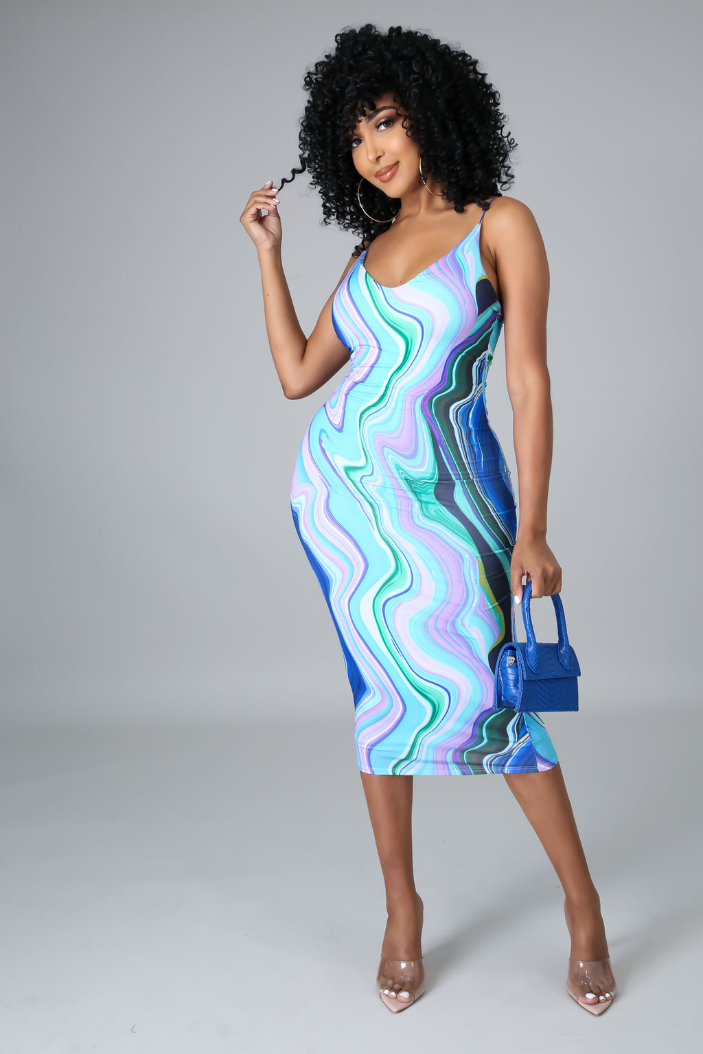 Swirl Me Around Dress