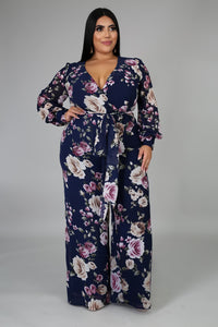 Feel The Floral Jumpsuit | GitiOnline