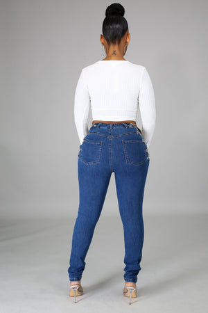 Chain Obsessed Jeans