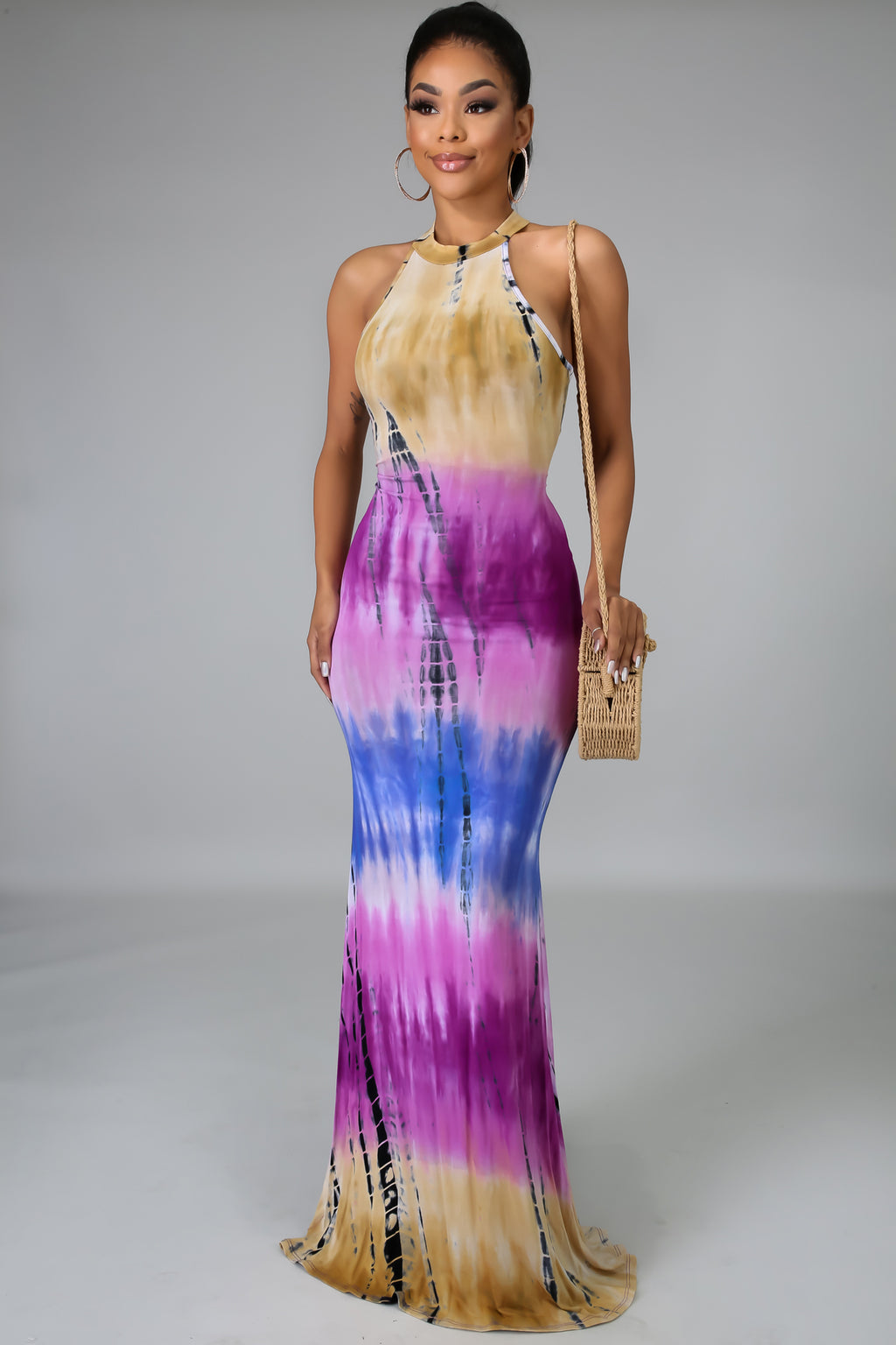 Tie Dye Mermaid Dress | GitiOnline