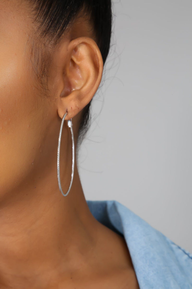 Be Mine Hoop Earrings