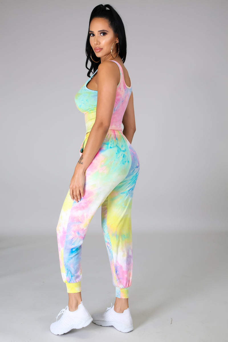 Totally Tie Dye Pant Set