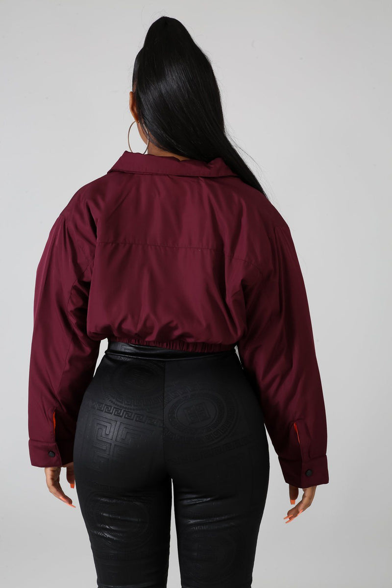 Bomber Crop Jacket | GitiOnline