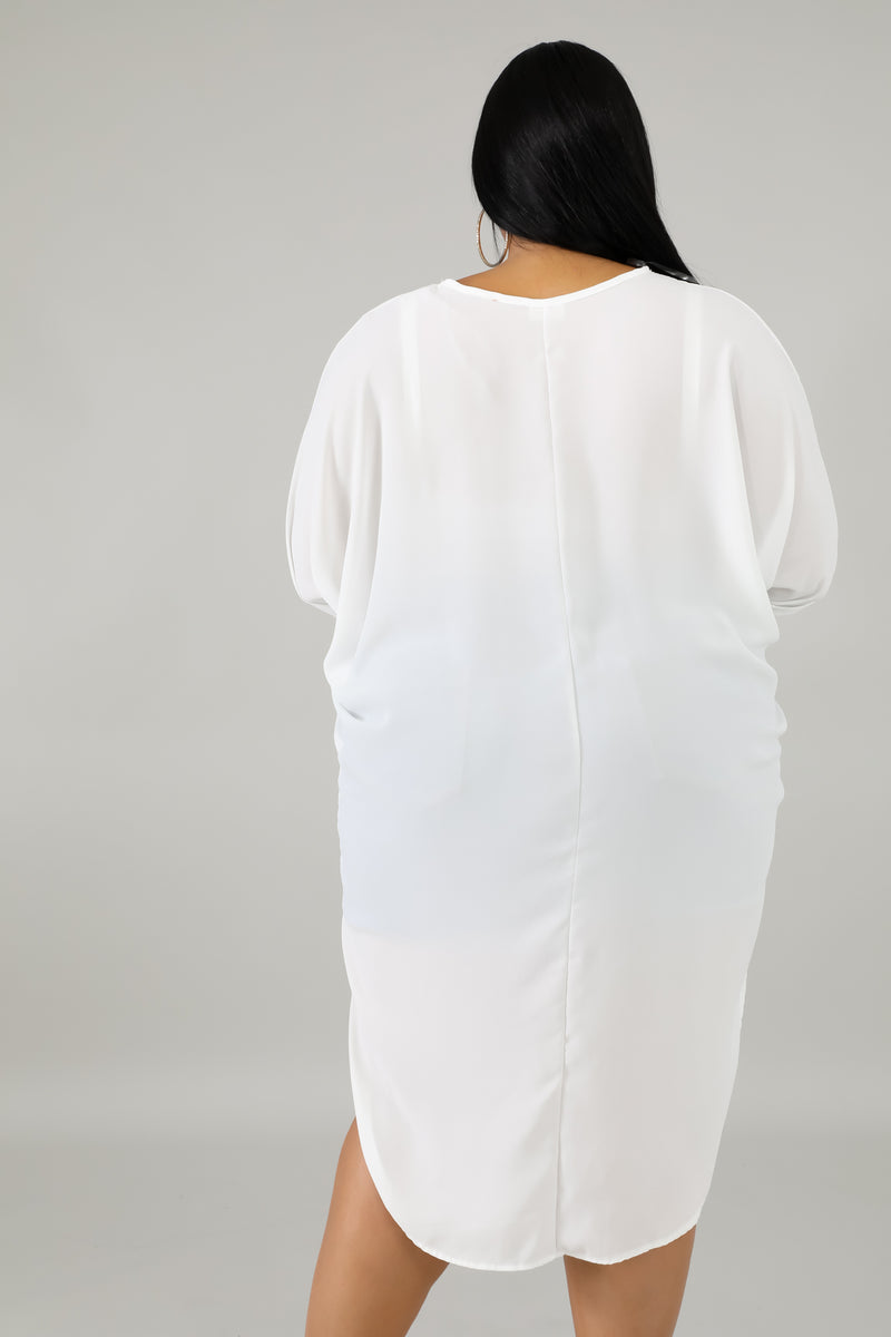 Sheer Long tail Top | GitiOnline