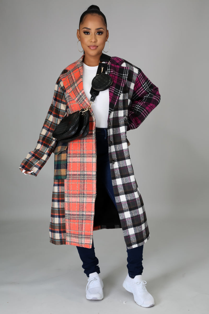 Mix It Up Coat