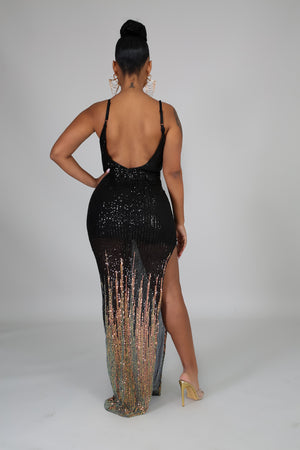 Let's Sequin Tonight Dress | GitiOnline