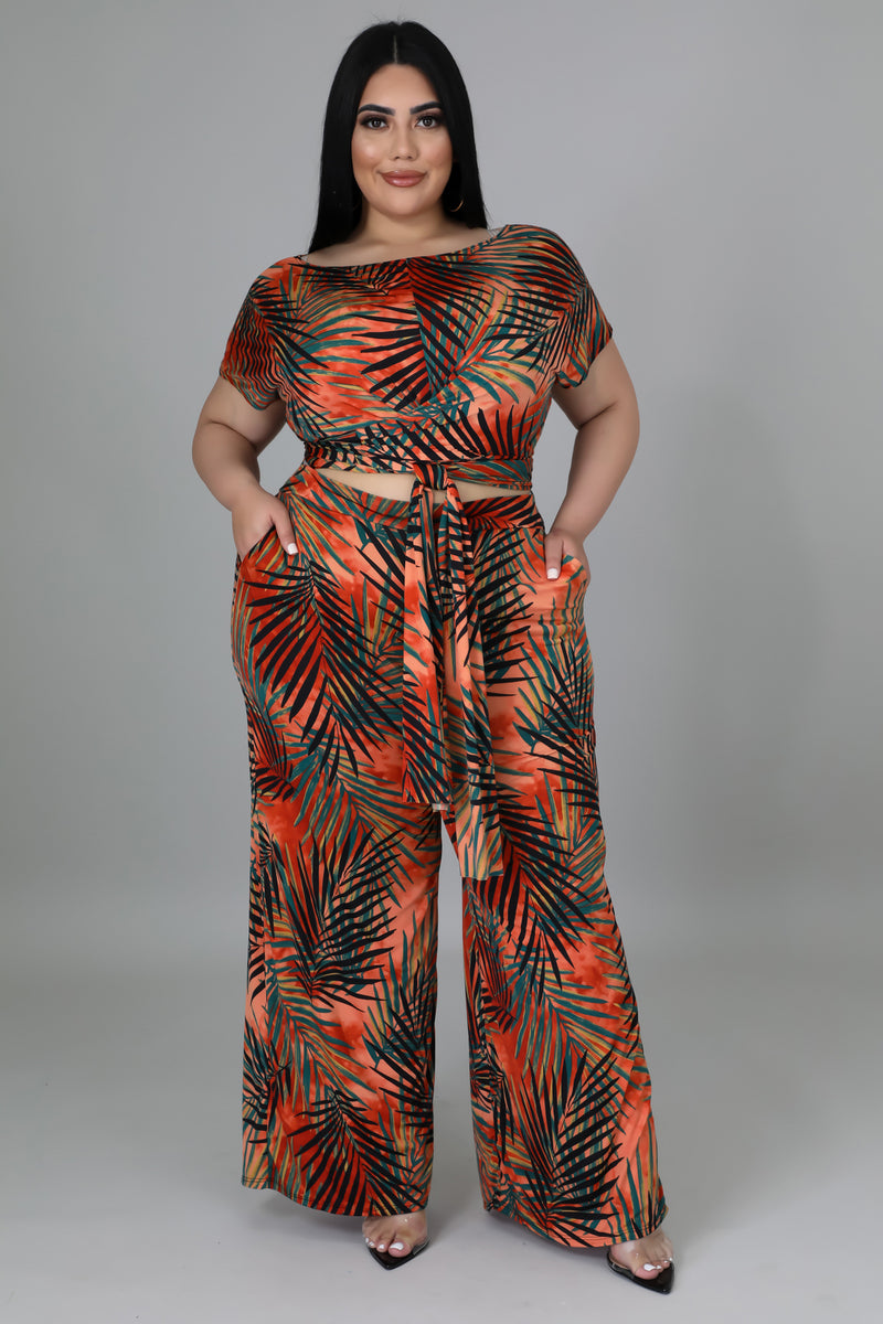 Vaudevillian Slit Maxi Dress
