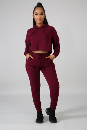 Jogger Crop Set | GitiOnline