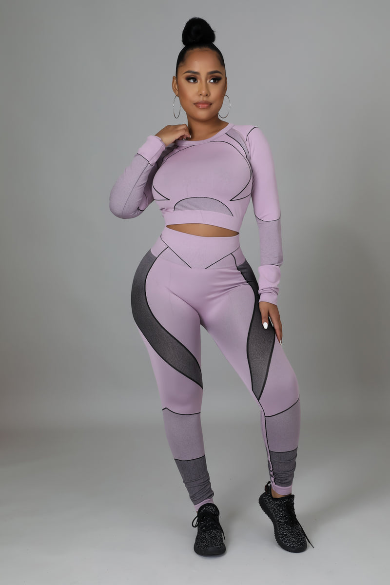 Jersey Flare Jumpsuit