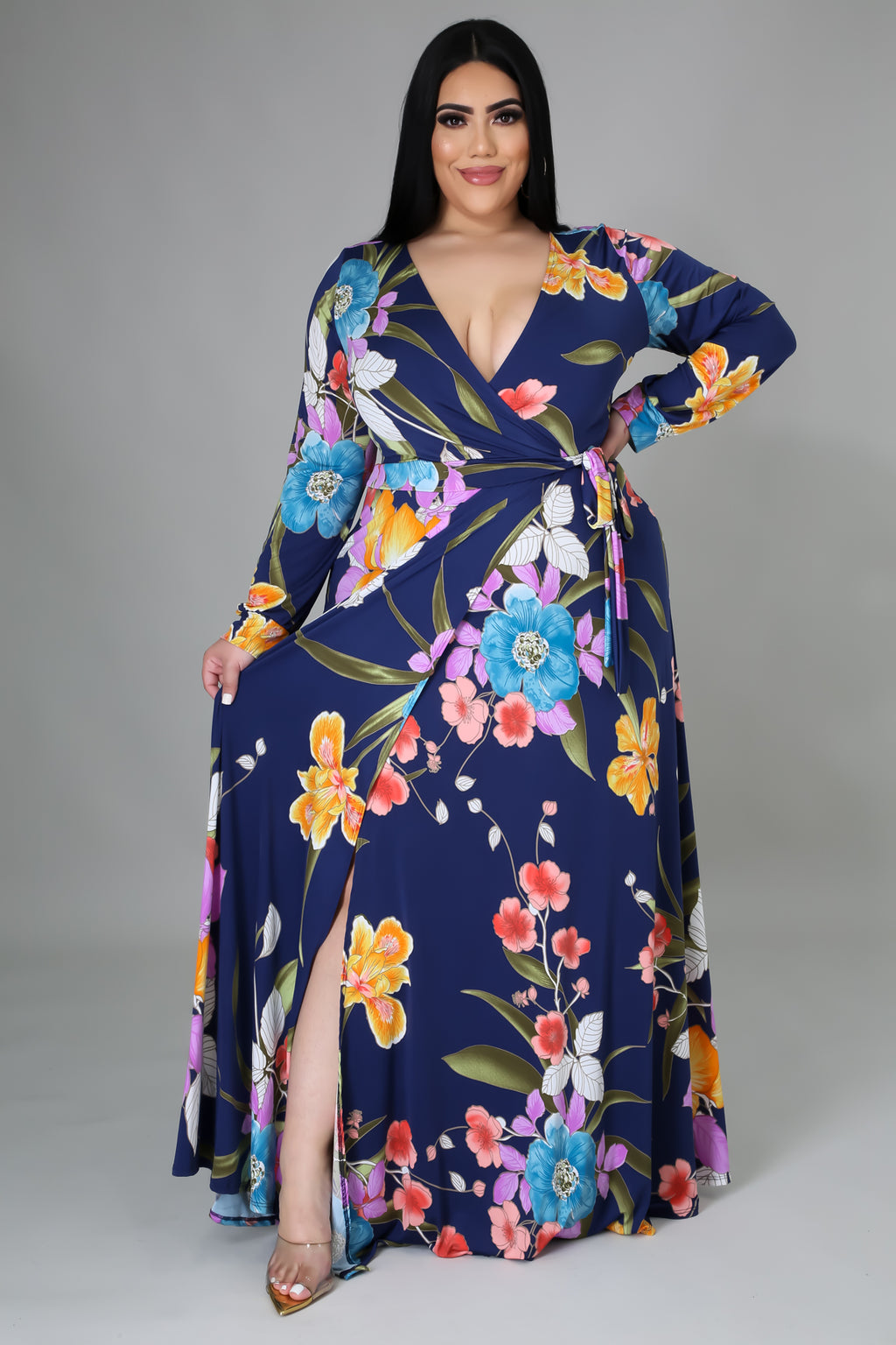 Floral Bloom Maxi Dress