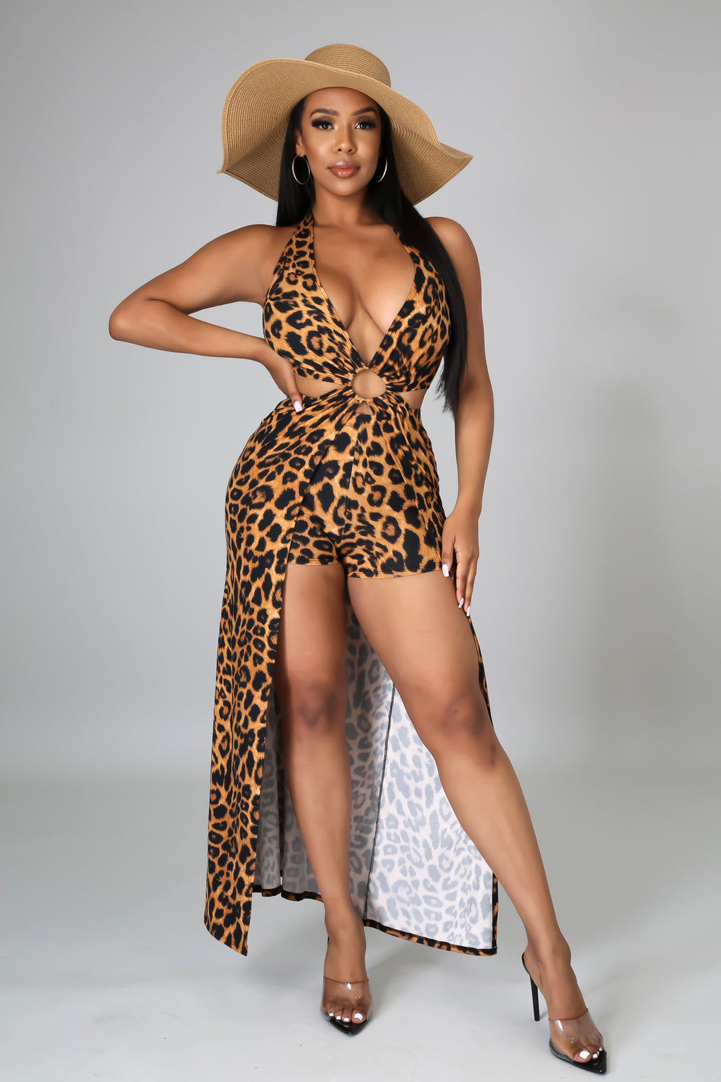 Cheetah Love Short Set
