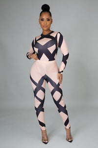 Xoxo Bodysuit Pant Set