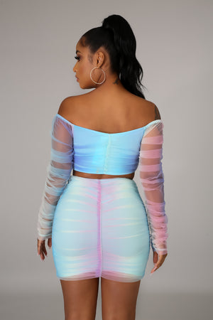 Taste The Rainbow Skirt Set