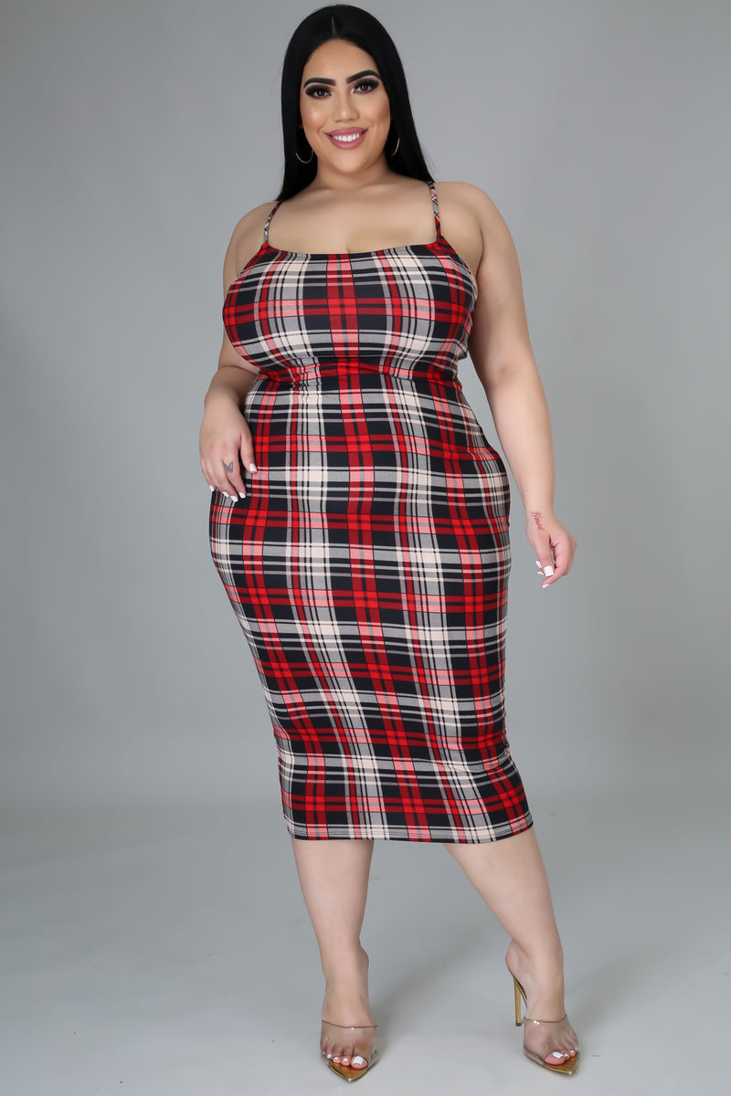 Well Plaid Dress