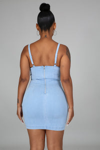All About Denim Dress