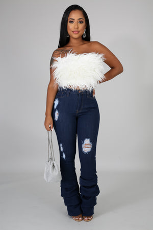 Need Some Ruched Jeans | GitiOnline