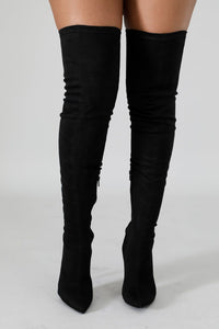 Suede High Boots | GitiOnline