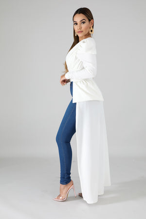 Elegant Long Tail Top | GitiOnline