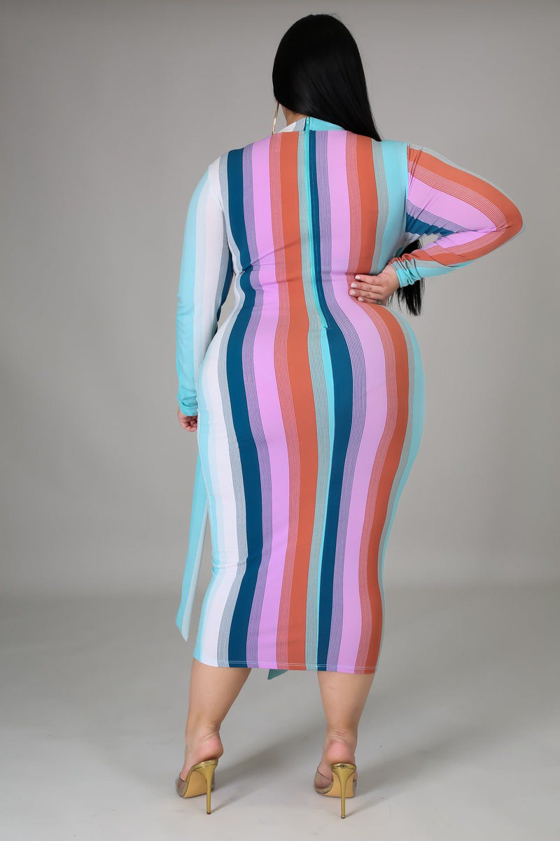You're My Stripe Dress