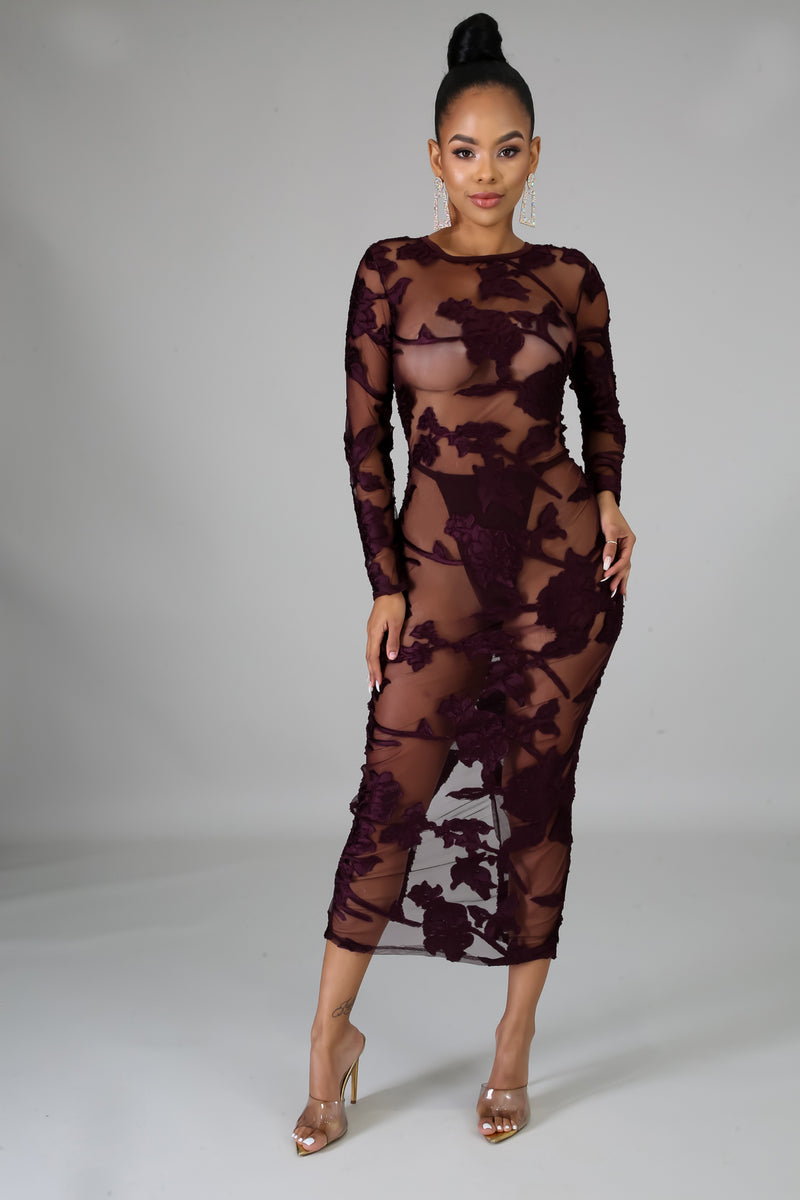 X-Rated Midi Dress | GitiOnline