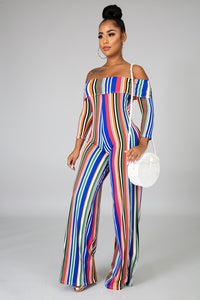 Spring Cotton Jumpsuit