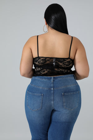 Lace Crop Top | GitiOnline