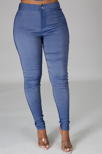 Head And Heart Denim Pant Set